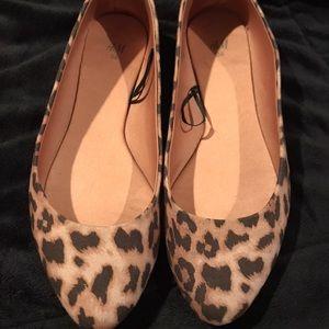 Cheetah H&M Flats